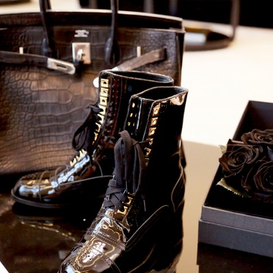 QUEENIES Exclusive Production A/W Collection Leather Boots