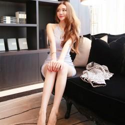 QUEENIES Exclusive Production Super Sexy Crop Dress